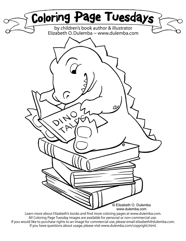 Dulemba Coloring Page Tuesday And Es News