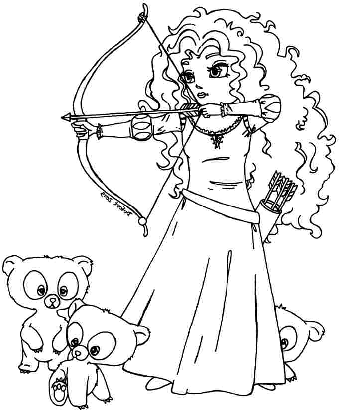 brave coloring pages games kids - photo#17