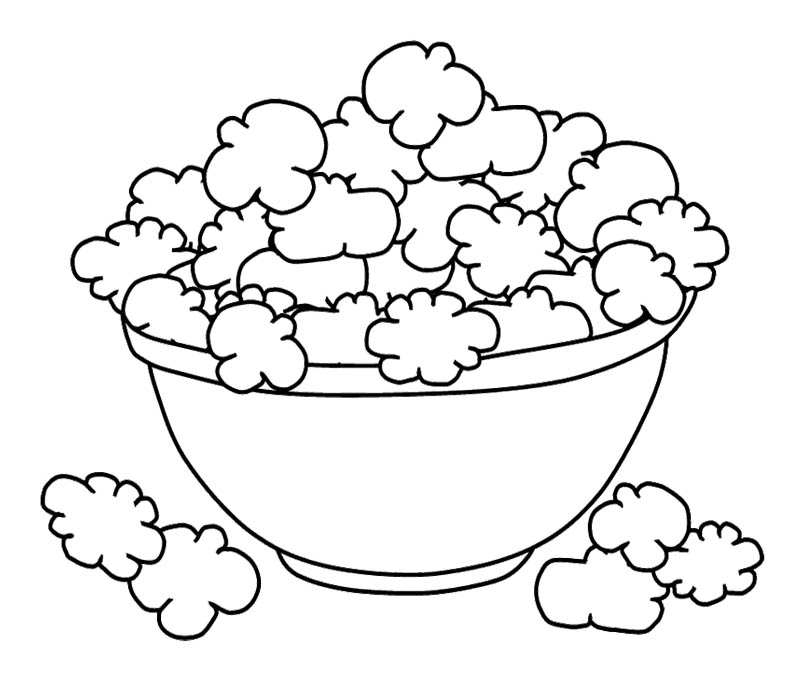 Cookie Coloring Pages : Cookie Dough In Mixing Bowl ...