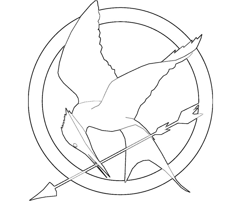 eagle coloring pages easy - photo #43