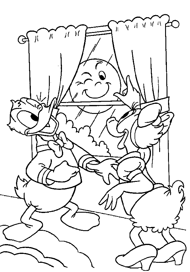 bebé pato donald Colouring Pages (page 3)
