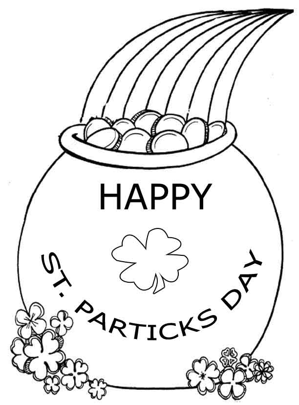o byrnes st patricks day coloring pages - photo #6