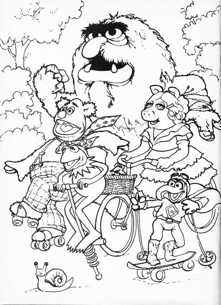 baby-muppets-coloring-pages-526 | Ace Images