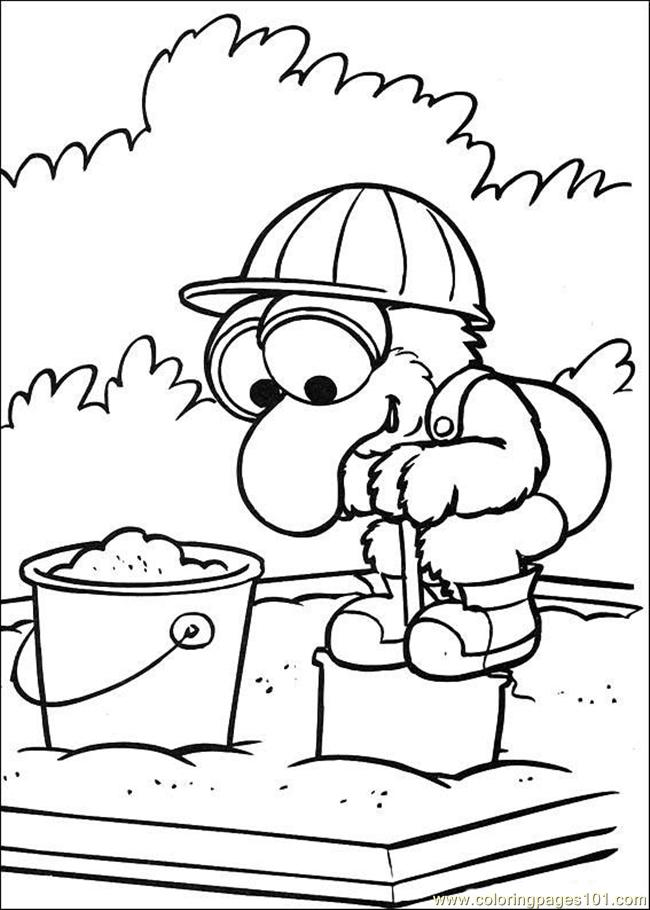 Pix For > Muppet Baby Coloring Pages