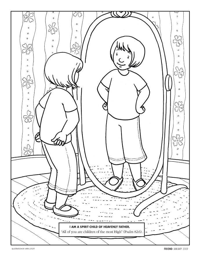 LDS Coloring Pages  20182009
