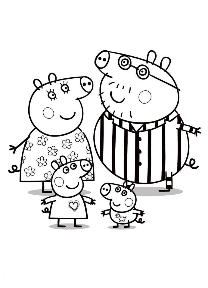 imagenes de pepa pig Colouring Pages (page 2)