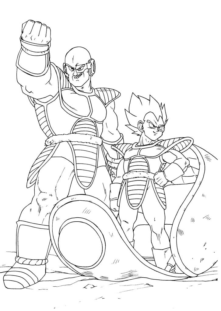 Desenhos Para Colorir Do Dragon Ball Z | Bulldog Puppys
