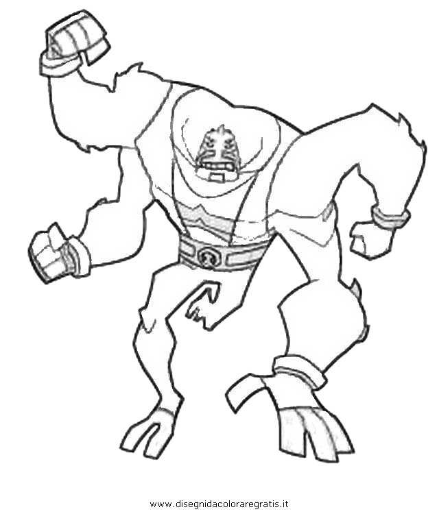 Ben 10 Coloring Pages  GetColoringPagescom