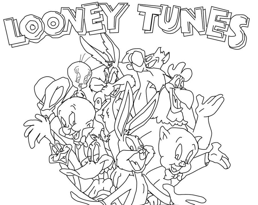 Looney Tunes Coloring Pages and Book | UniqueColoringPages