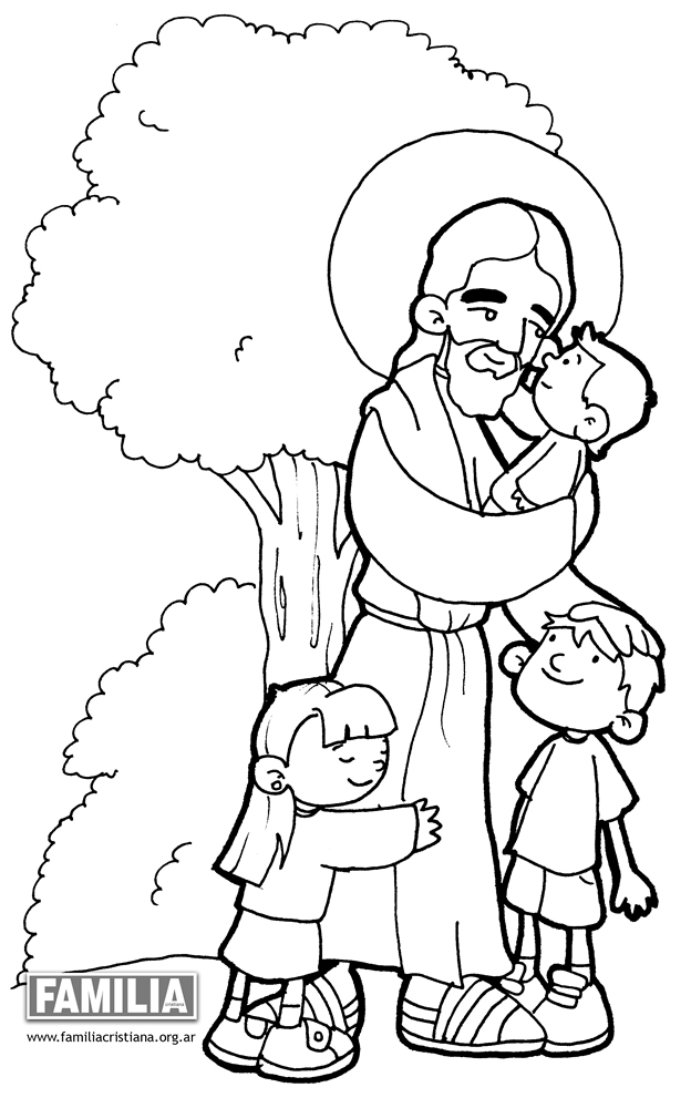 Jesús crucificado Colouring Pages (page 2)
