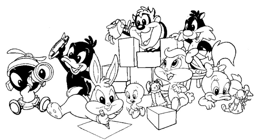 Baby Looney Tunes Coloring Pages | Free Printable Coloring Pages