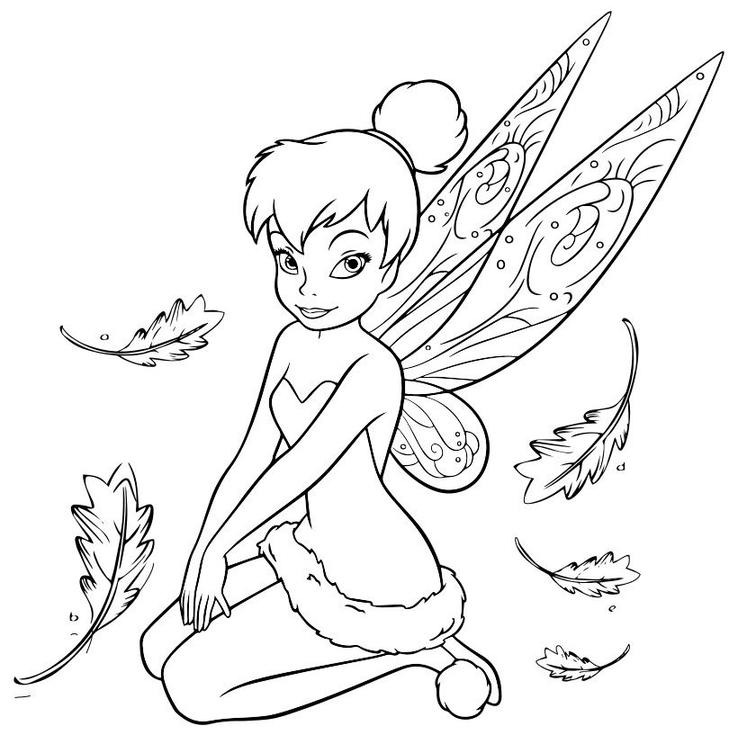 Terence And Tinkerbell Coloring Pages Coloring Pages