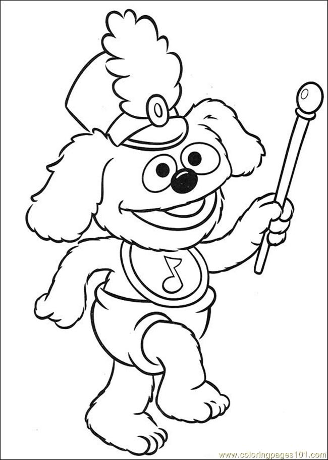 Coloring Pages Muppet Babies 39 (Cartoons > Muppet Babies) - free