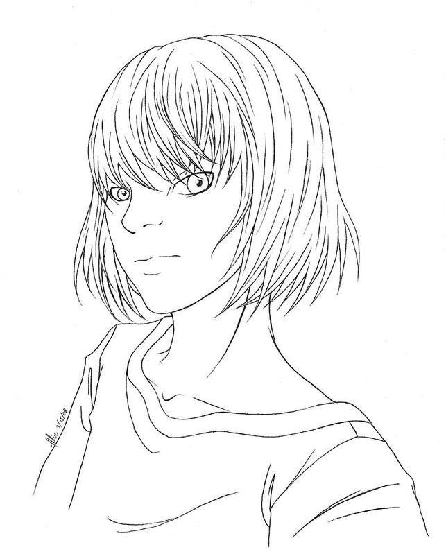 Death Note Mello Coloring Pages