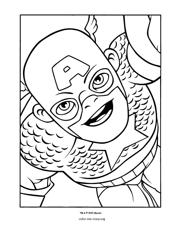 Super Hero Squad Coloring Pages