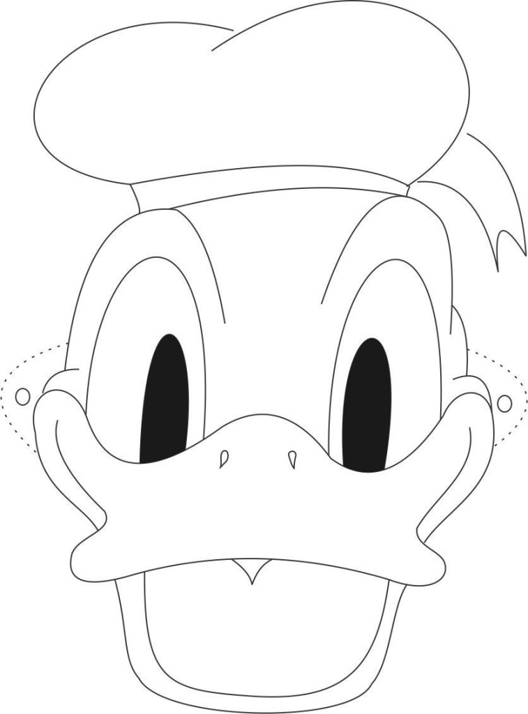 Pin Donald Duck Coloring Pages Free Printable on Pinterest