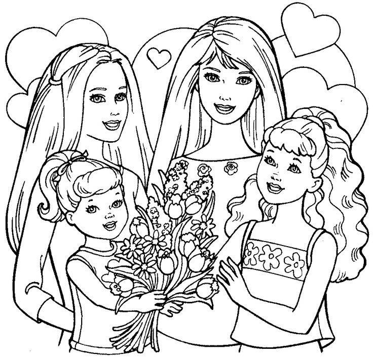Nice Coloring Pages Barbie Life In The Dream House Images Examples