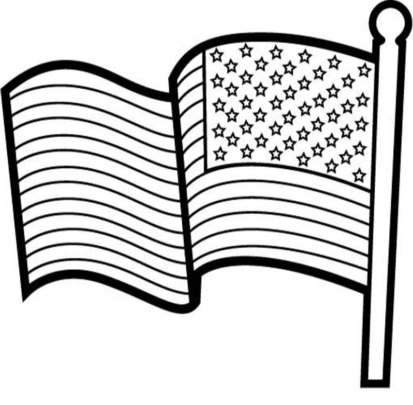 Download american flag coloring page for kids or print for Arizona flag coloring page