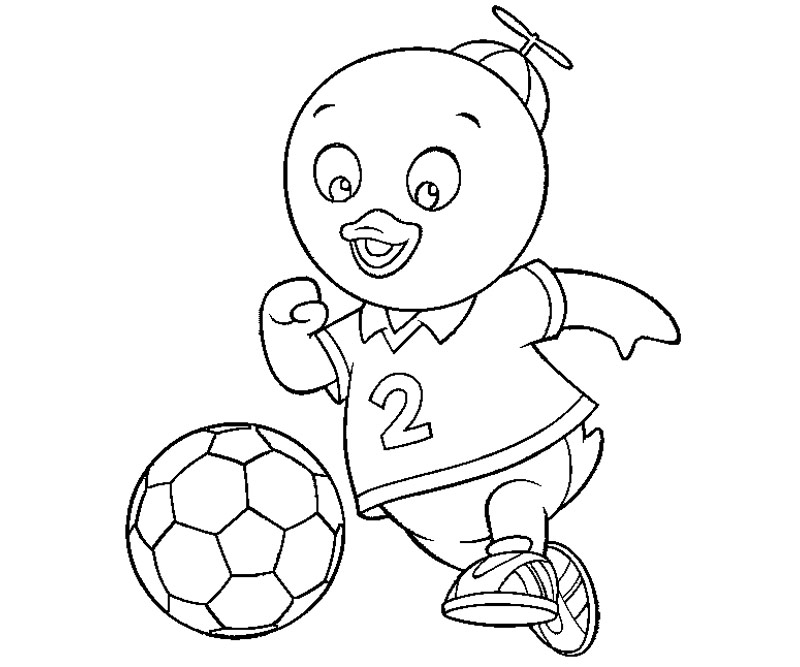 Backyardigans Coloring Pages Pablo : Backyardigans Coloring Pages ...