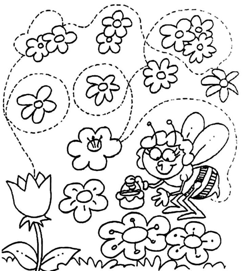 Spring Coloring Pages  Printable Coloring eBook
