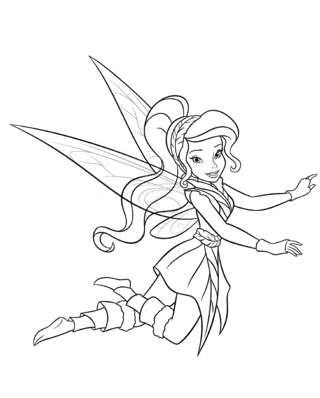 periwinkle and tinkerbell coloring pages - periwinkle with tinkerbel the fairy coloring pages